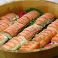 鮭押し寿司