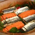 鯖寿司、鮭寿司