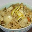 焼鯛の身のい炊き込みご飯