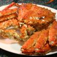知床羅臼のタバラ蟹