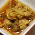 ミル貝の肝の煮つけ