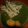 ノビルの球根/味噌