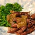 蛍烏賊と菜の花の酢味噌和え