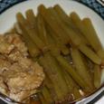 ツワブキの煮物
