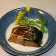サゴシの味醂・醤油漬けの焼き物