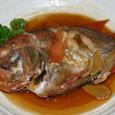 赤尾鯛の煮付け