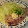 飛魚のお刺身(タタキ)
