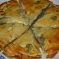 コロッケの中身を挟んだパイ風パン
