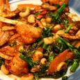 ワタリ蟹とブロッコリーの中華風炒め