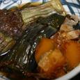 茄子とカボチャの煮物