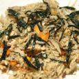 焼鯖の炊き込みご飯