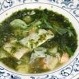 鮭のスープ