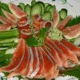 鮭の洋風刺身