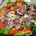 しめ鯖のサラダ