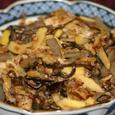 ゼンマイと筍の煮物