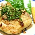 鶏肉ソテイーのローズマリー風味