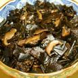 昆布、干し椎茸、山椒の佃煮