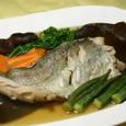 真鱈の昆布〆の鮭蒸し