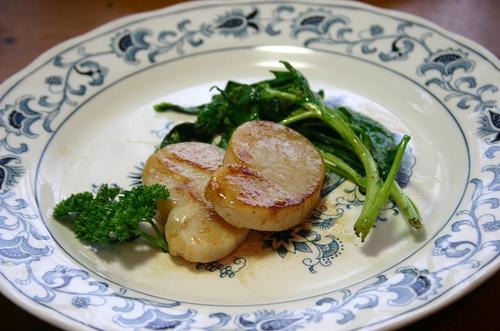 平貝のステーキ