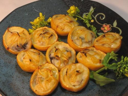 柚子と牡蠣