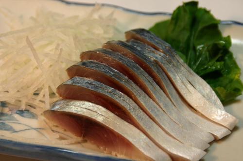 平鯖のしめ鯖