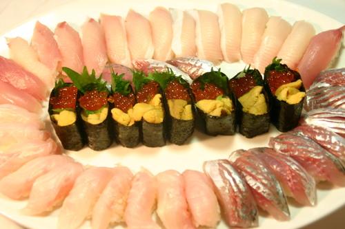 ロスの娘の御寿司