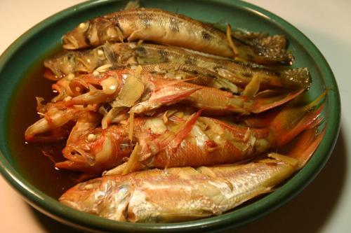 雑魚の煮つけ