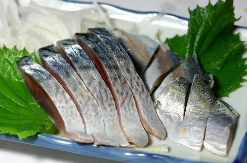鯖と鯵の酢絞め