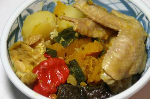 鶏の手羽の煮物