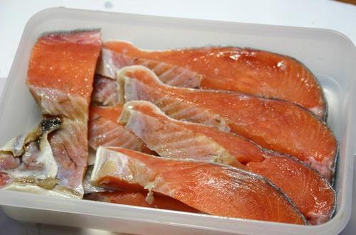 新巻鮭 焼かムニエル用切り身