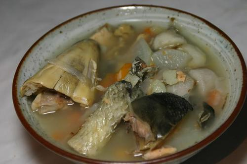 新巻鮭 アラの潮汁