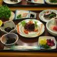 国民宿舎の鯨料理フルコース