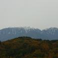 中央自動車道からの鳳凰三山