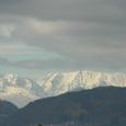 雪のアルプス