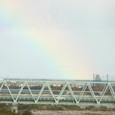 日本海にかかる虹
