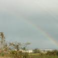 日本海にかかる虹(2)