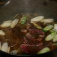 水窪 民宿の猪鍋