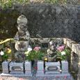 今川泰範と今川家軍師の雪斎の墓