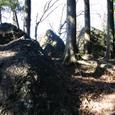 ビク石 ダイダラボッチの落とした石