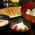 焼き餃子と水餃子