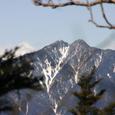梅が島 八紘嶺より 笊が岳