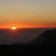 仙丈ケ岳からの日の出