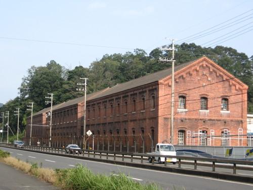 レンガの倉庫