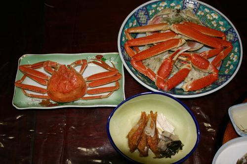 新湊 民宿 信一の料理(2)
