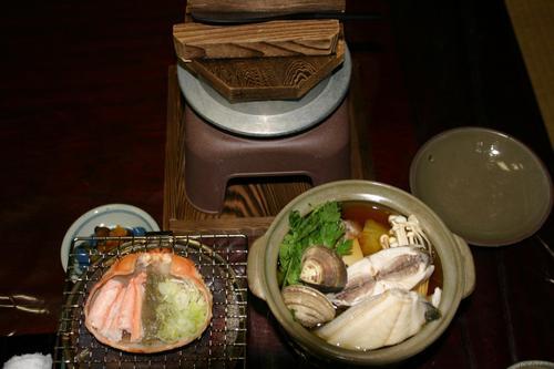 新湊 民宿 信一の料理(3)