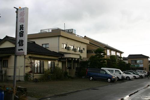 富山 新湊 民宿 信一