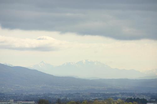 松本より八ヶ岳