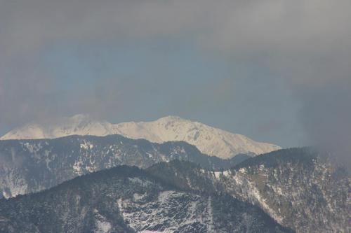 山伏岳より赤石岳