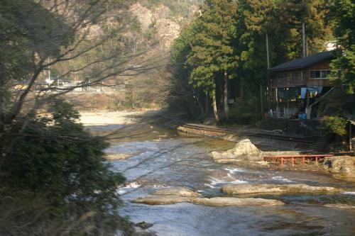 飯田線湯谷渓谷