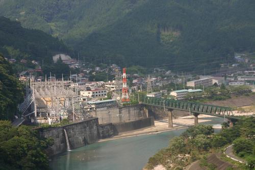 飯田線と佐久間発電所